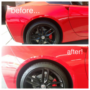 before and after lowered suspention